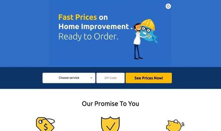 Contoh Landing Page Property