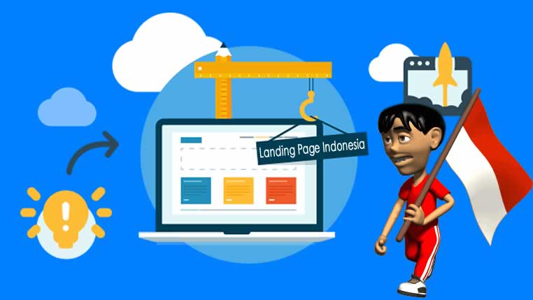 Landing Page Indonesia